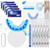 Blanqueador Dental, Nivlan Kit de Blanqueamiento Dental Profesional, con 16 Luces LED, Gel Blanqueador de Dientes Para Mancha
