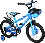 Kingston Kids Cycle 16 inch Ninja BMX (SEMI Assembled) for 5 to 8 Years Child- K336