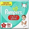 Pampers Pants, Size 5, Junior, 12-18 kg, Mega Box, 84 Diapers