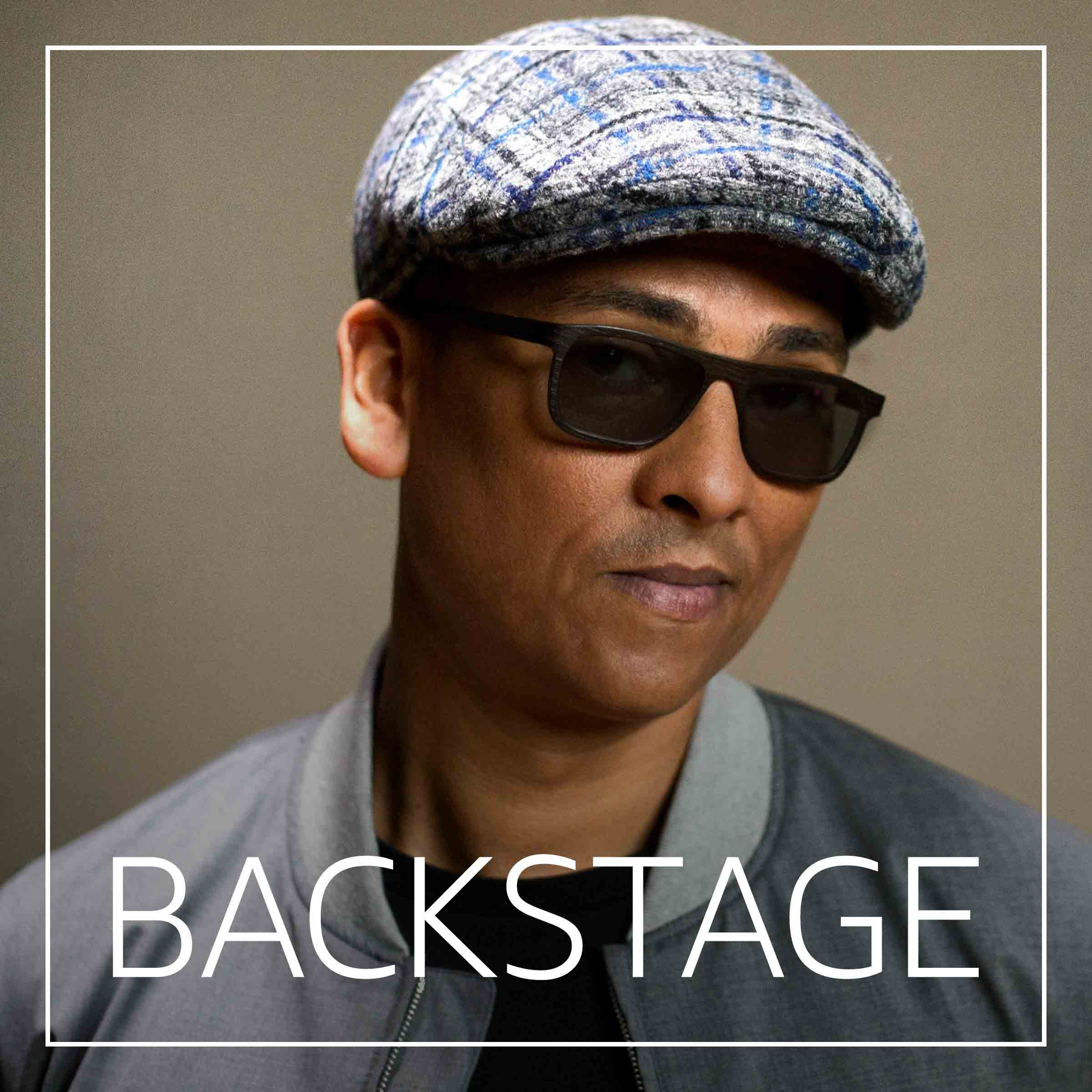 Backstage mit Xavier Naidoo