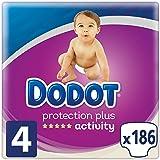 Dodot Activity Baby-Windeln Talla 4 (8-14 kg)