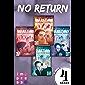 No Return: Alle vier Bände der Bandboys-Romance-Reihe in einer E-Box!: Rockstar-Liebesroman und Gay Romance in Einem