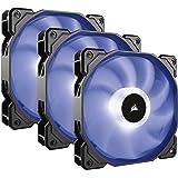 Corsair SP120 RGB Ventilateur de Boitier, 120mm, RGB LED avec Contrôleur d'éclairage (Triple Pack)