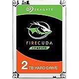 Seagate ST2000LX001 FireCuda 2 TB interne Hybrid Festplatte (6,4 cm (2,5 Zoll) 64 MB Cache, Sata 6 Gb/s)