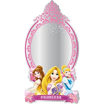 Disney Princess Self Adhesive Large Mirror Self Adhesive ...