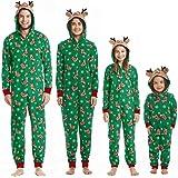 Pijamas Familiares Navideñas Pijama Navidad Familia Mono Navideños Mujer Niños Niña Hombre Pijama Reno Entero Una Pieza Traje