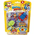 SuperThings Blíster 5 Serie 4 Vehículos y Figuras Coleccionables, Color surtido, única, Magic Box PSZ4B416IN00