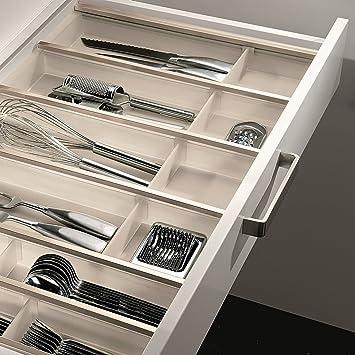so-tech® 30er cuisio besteckeinsatz weiß transluzent besteckkasten ... - Schubladen Ordnungssystem Küche