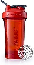BlenderBottle Pro24 Tritan Protein Shaker   Wasserflasche   Sportflasche   Diät Shaker   710ml - Red