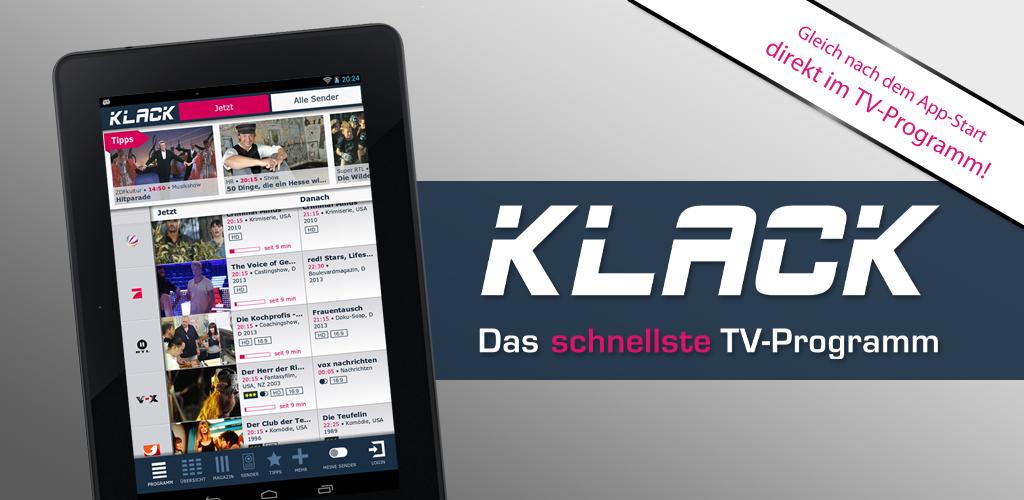 Klack Fernsehprogramm