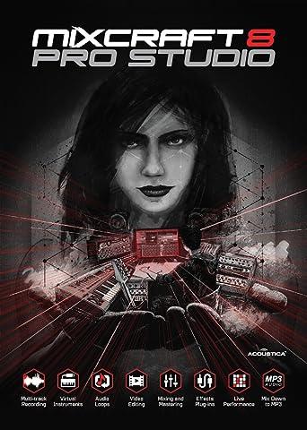 Mixcraft 8 Pro Studio [Télécharger]