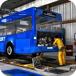 Metro Bus Mechanic Simulator 2019: Auto Repair Workshop & Car Garage Games FREE