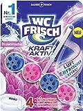 WC-Frisch Kraft Aktiv Duftspüler Blütenfrische, WC-Reiniger mit Lufterfrischer Effekt, 50 g (1er Pack)