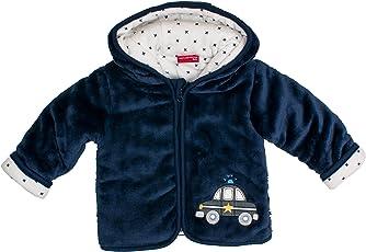 SALT AND PEPPER Baby-Jungen Jacke Nb Jacket Fun Time Plüsch