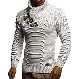 Leif Nelson Men's Pullover Knit Sweater LN-5575