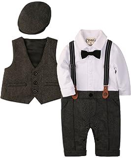 mintgreen B/éb/é Gar/çons Gentilhomme Costume Ensemble Manche Courte Chemise avec Noeud Papillon Pantalon 1-5 Ans Gilet