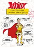 Asterix: les citations latines expliquees