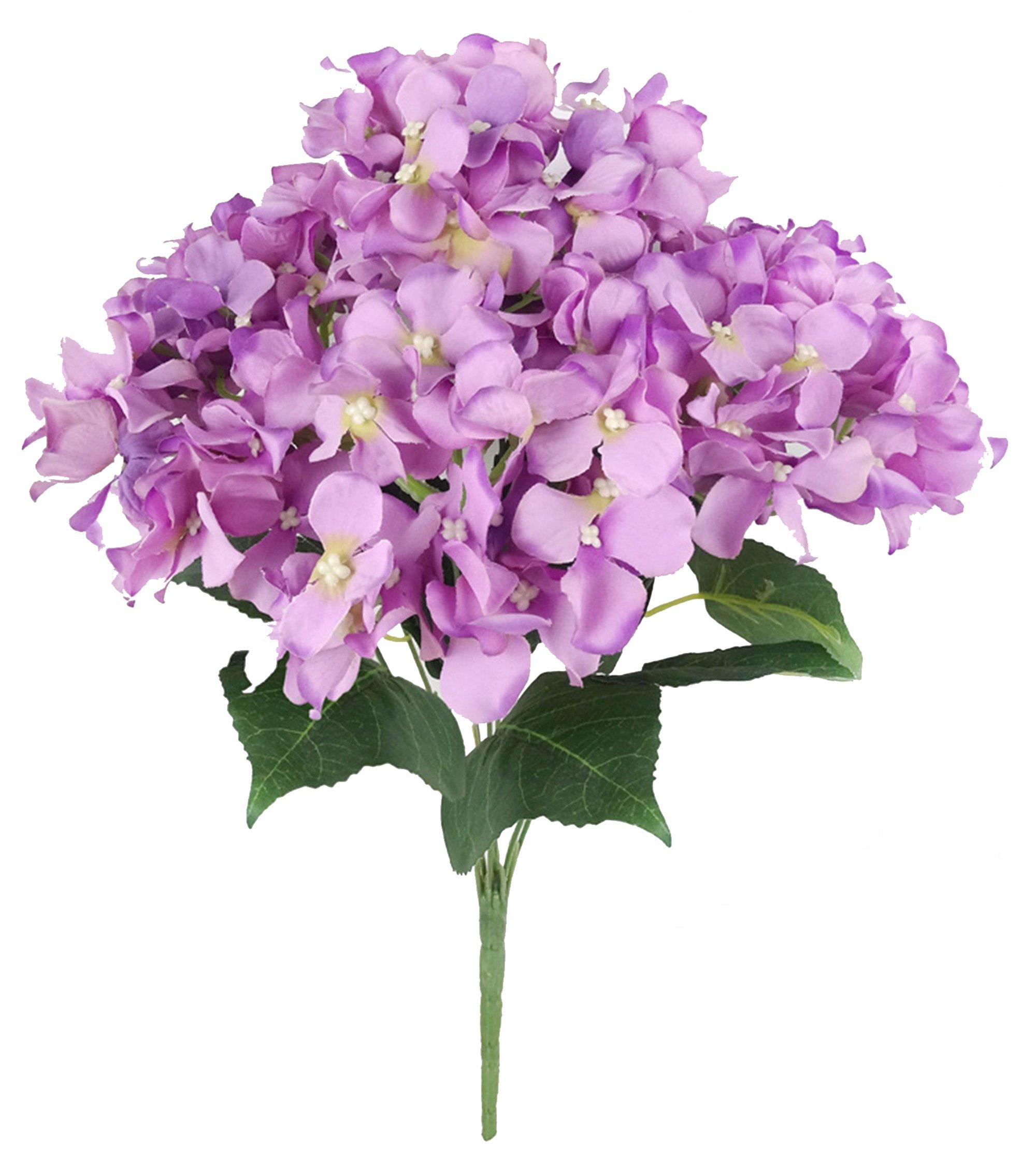 Efivs Arts – Ramo de flores artificiales de seda de 45 cm, 7 cabezas grandes, ideal para bodas, habitaciones, hogares…