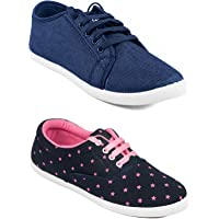 ASIAN Women's Casual Shoes (Set of 2 Pairs)