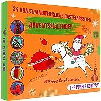 Adventskalender 2021 für Kinder mit tollen kunsthandwerklichen Basteleien 24 tolle Bastelarbeiten für die…