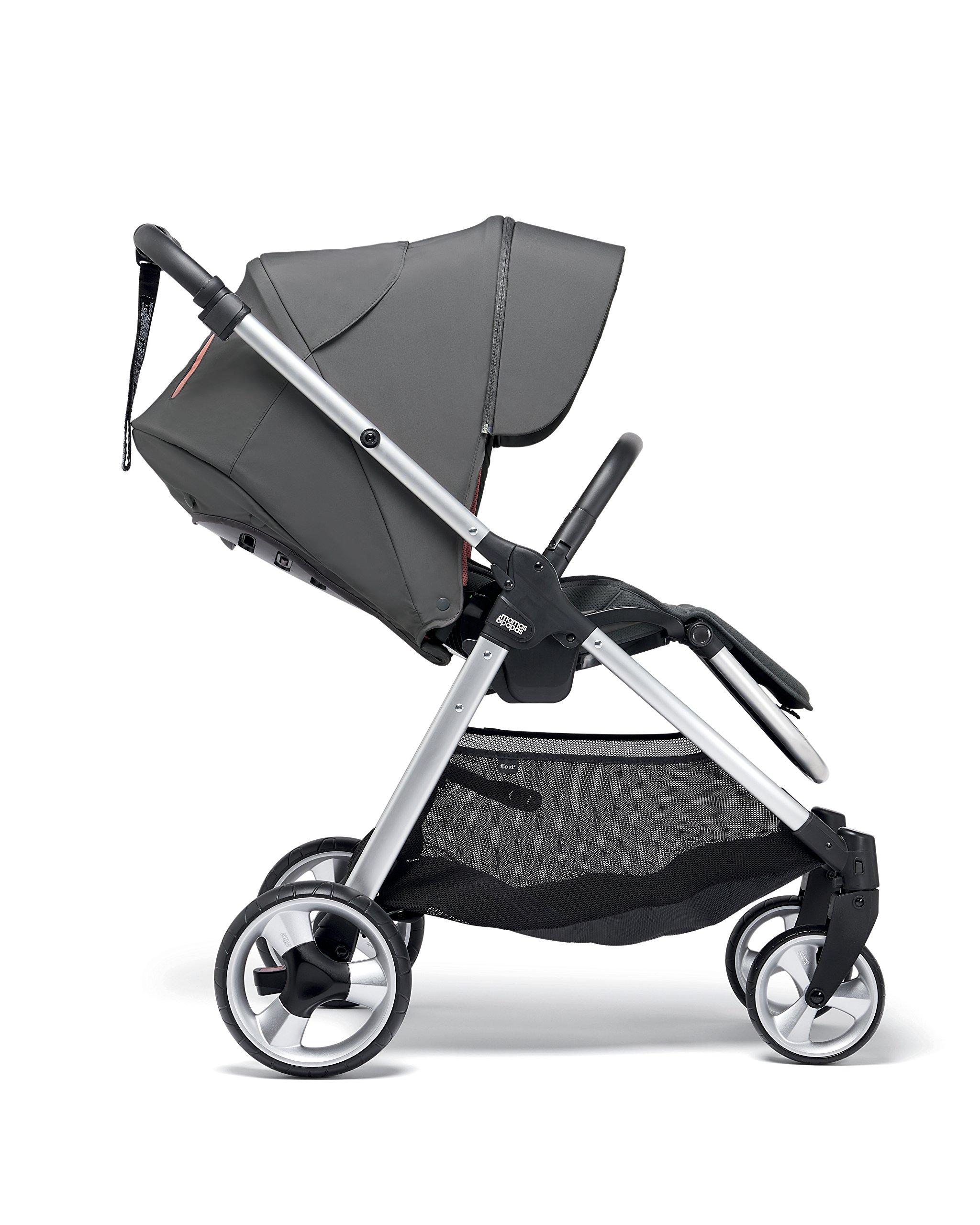 Mamas & Papas Flip XT2 Pushchair, Grey/Coral Mamas & Papas  4