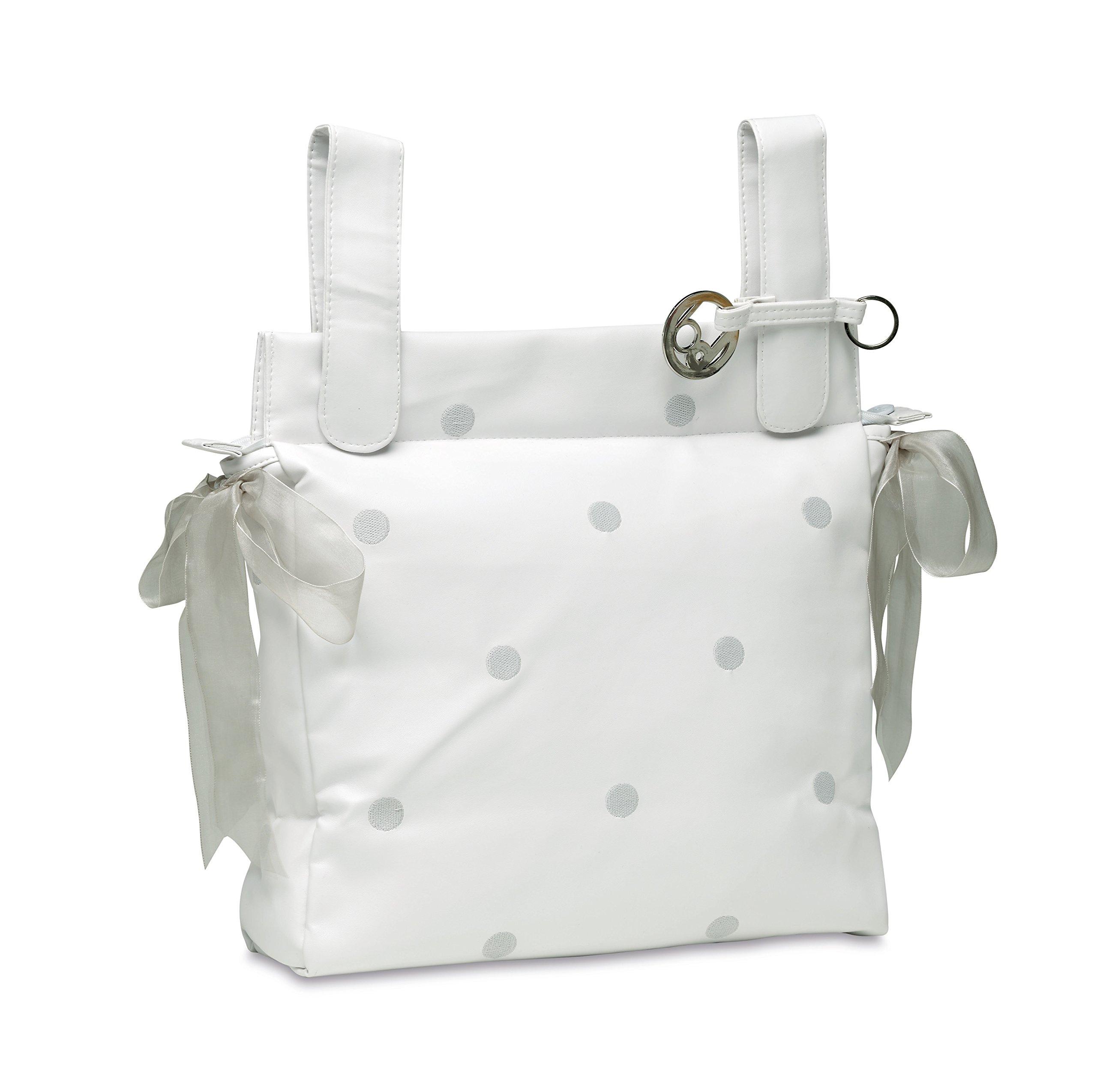 bimbi romantico–Talega, 34x 36x 9cm, bianco/grigio