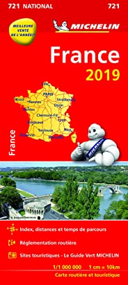 Carte France Michelin 2019