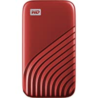WD My Passport SSD 1 TB mobile Festplatte (NVMe-Technologie, USB-C und USB 3.2 Gen-2 kompatibel, Lesen 1050 MB/s…