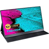 Draagbare Monitor 15.6 Inch, UPERFECT Gaming Monitor Full HD 1920 x 1080 Scherm IPS USB C Monitor met HDMI/Type-C Aansluiting