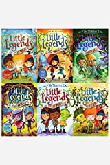 little legends collection 6 books set (the spell thief, the great troll rescue, the genie's curse, the magic looking glass, the secret mountain, the story tree) Paperback