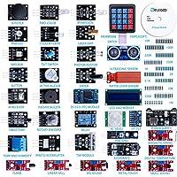 ELEGOO Kit DE 37-en-1 Module Capteur V2.0 avec CD Tutorial Complet et Accessible pour Raspberry Pi Débutants et Professionnels DIY Compatible avec Arduino IDE