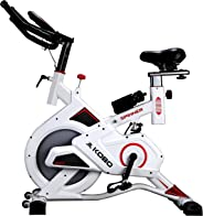 Kobo Exercise Spin Bike with Steel Wheel (Imported)