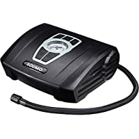 Amazon Brand - Solimo Portable Tyre Inflator, 12V (Black)