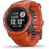 Garmin Instinct - Montre GPS Multi-Fonctions Outdoor - Rouge Feu