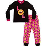 Pijama largo para niña LOL Happy Face Emoji Style Laugh Out Loud de 9 a 15 años