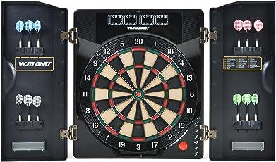 Winline Elektronische Dartscheibe Turnierscheibe mit 27 Spielen und über 195 Varianten