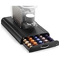 CEP Take a Break - Range-dosettes sous cafetière compatible Nespresso et Special. T - Plastique - Noir - 23,4 x 40,5 x 6…