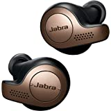 Jabra Elite 65t - True Wireless In-ear Kopfhörer mit Passive Noise Cancellation - Mit 4 Mikrofon-Technologie - kupfer/ schwarz
