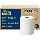 Tork Matic - papieren handdoeken (Wit, EU Ecolabel SE/04/01, H1)