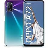 OPPO Smartfon A72 o przekątnej 16,51 cm (6,5 cala), 128 GB pamięci wewnętrznej, z systemem Android 10, 48 MP Quad + obiektyw