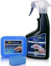 Petzoldt's Reinigungsknete-Gleitmittel Set, zur schonenden Lackreinigung