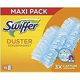 Swiffer Duster Ricambi per Piumino Catturapolvere, Catturano e Intrappolano fino a 3 Volte più Polvere e Peli Rispetto a un P