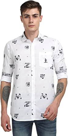 GUNIAA Men's Regular Fit Shirt