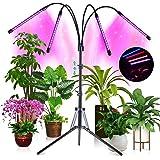 CrazCalf 180 LED 144W Lampada per Piante, 35 modalità di Illuminazione Lampada Piante Coltivazione Grow Light Spettro Complet