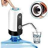 Moguat Dispensador de Agua para Garrafas con Adaptador, Grifo Dosificador Eléctrico Automático, Bomba Botella Agua Fria y Cal
