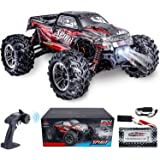 HisHerToy Remote Control Car for Adults Boys Girls Big RC Trucks for Adults IPX4 Waterproof Off Road RC Cars for Adults Kids