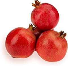 Fresh Organic Pomegranate, 4 Pcs