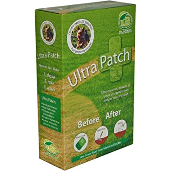 G plants 1kg grass seed ultra patch: amazon. Co. Uk: garden & outdoors.