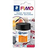 Staedtler FIMO 8704, Vernis brillant pour pâte FIMO, Résistant aux intempéries et aux UV, Flacon de 35 ml sous étui blister,