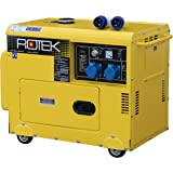 Rotek Schallgedämmter Diesel Stromerzeuger GD4SS-1A-6000-EBZ (6,0 kVA / 5,0kW 230V 50Hz 1-phasig)